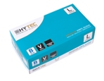 Hytec Blue Vinyl Powder Free Disposable Gloves