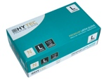 Hytec Natural Latex Low Powder Disposable Gloves