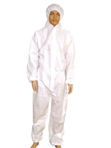 White Waterproof Coverall
