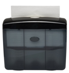 Black Table Top Hand Towel Dispenser