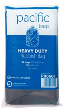 Rubbish Bag 60L Flat Pack