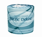 Pacific Deluxe Roll Toilet Tissue 2-Ply 400 Sheets