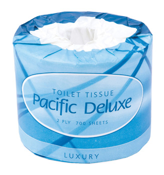 Pacific Deluxe Roll Toilet Tissue 2-Ply 700 Sheets
