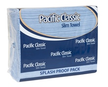 Pacific Slim Classic Towel Blue