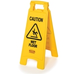 Hyklene Floor Sign - Caution Wet Floor