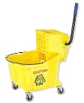 Hyklene Large Compression Mop Bucket