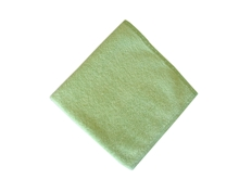 Standard Microfibre Cloth Green