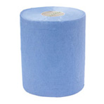 Sorb-X Barrel Roll 1-Ply Blue