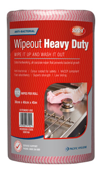 Sorb-X Wipeout Heavy DutyPink