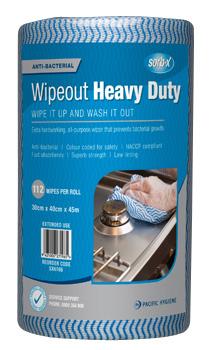 Sorb-X Wipeout Heavy Duty Blue