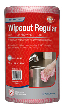 Sorb-X Wipeout Regular Roll Pink